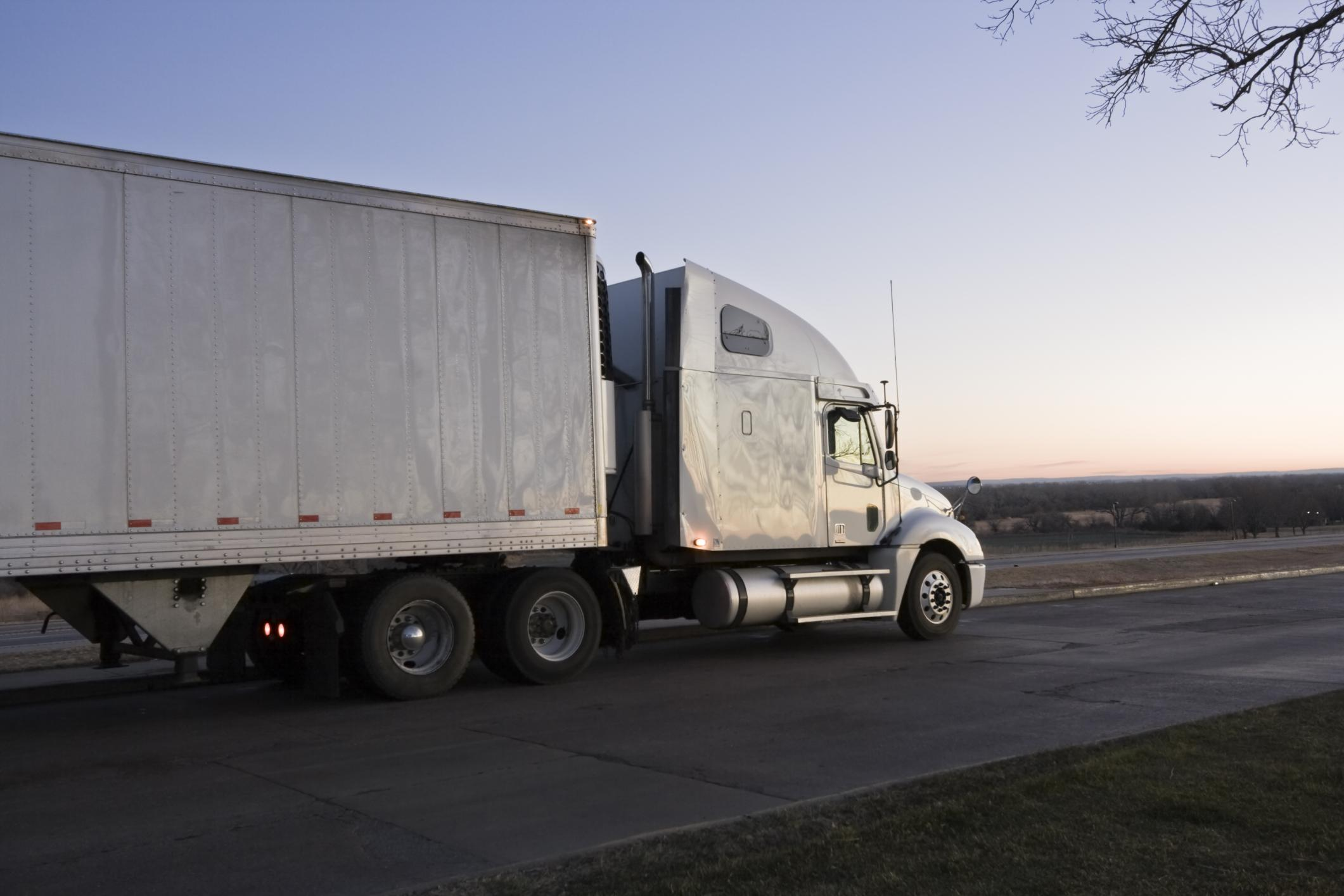 This is a picture of a heavy duty towing & rotator service.